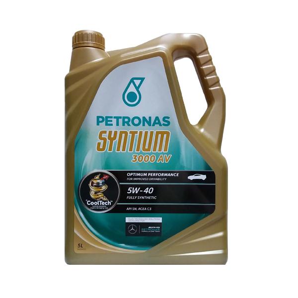 petronas syntium 3000 av 5w 40 5l gestroil parts. Black Bedroom Furniture Sets. Home Design Ideas